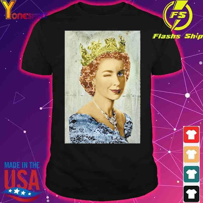 England United Kingdom Queen Elizabeth shirt