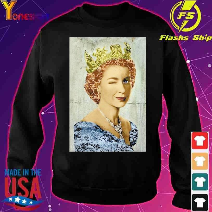 England United Kingdom Queen Elizabeth s sweater