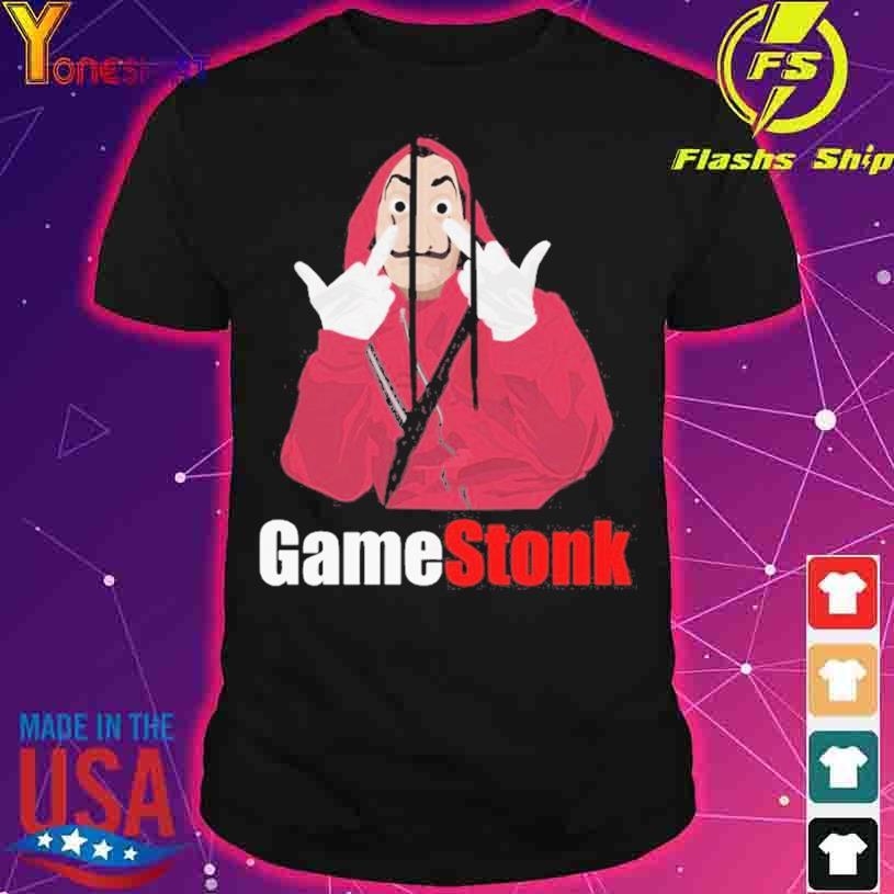 Game Stonk Salvadore Dali shirt