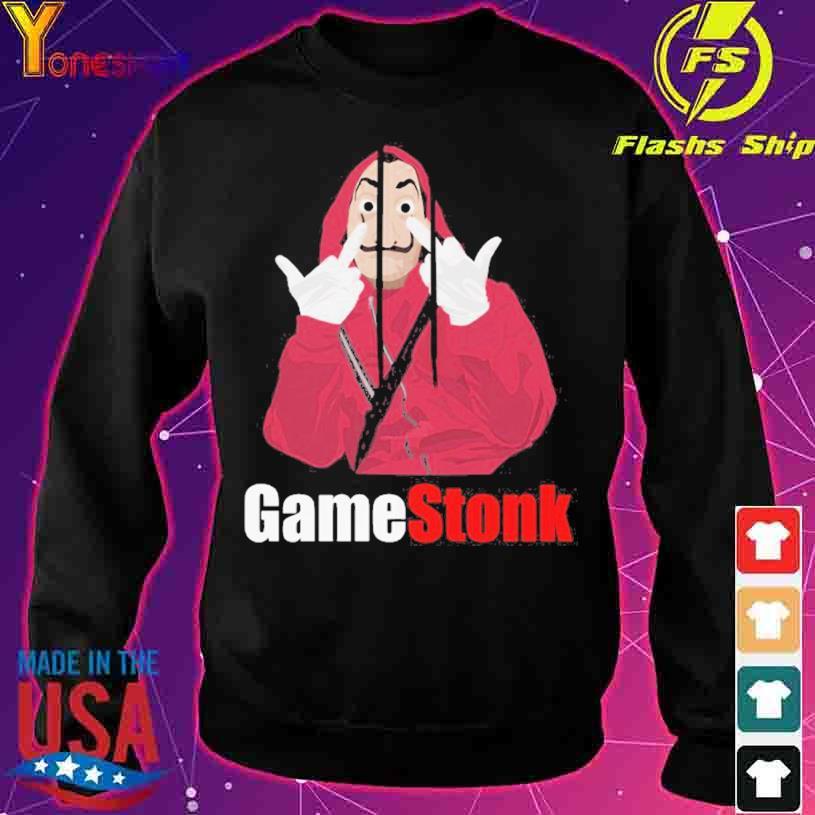 Game Stonk Salvadore Dali s sweater