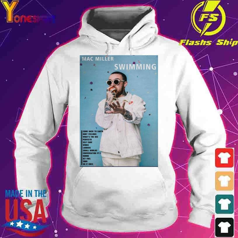 Mac Miller Swimming s hoodie