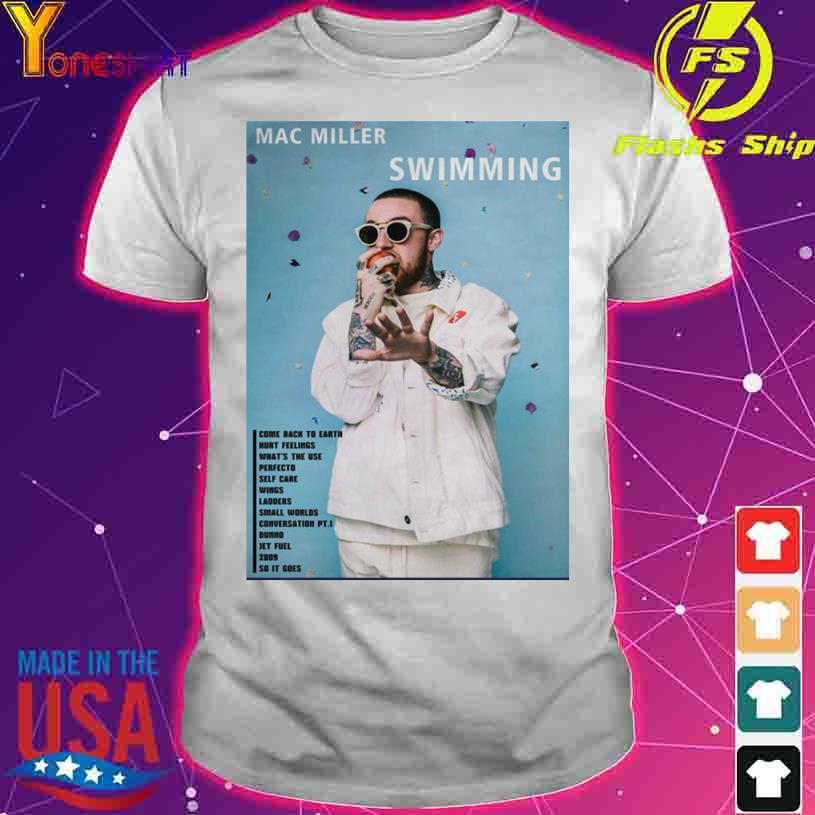 Mac Miller Swimming shirt
