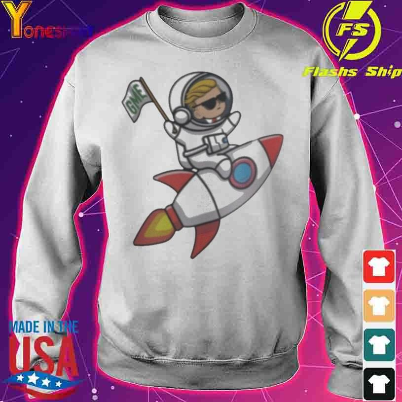 WallStreetBets GameStop GME To The Moon s sweater